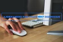 Ajornament obtenció PAR i PATT 2017